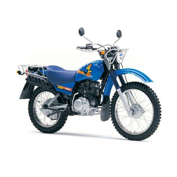 Yamaha-AG-200 Motorcycle