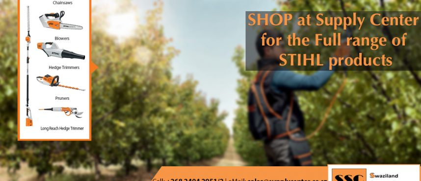 The World of STIHL Products – [All available at Supply Center]