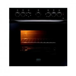 Defy Slimline Undercounter Oven Black DBO 458 | Swaziland Supply Centre