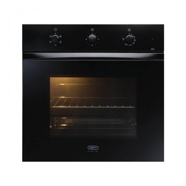 Defy Slimline Black Eye Level Oven DBO 459 | Swaziland Supply Centre