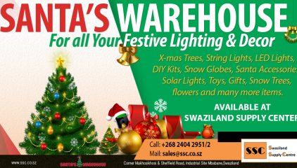Get Your Festive Lighting And Decor #SantasWarehouse