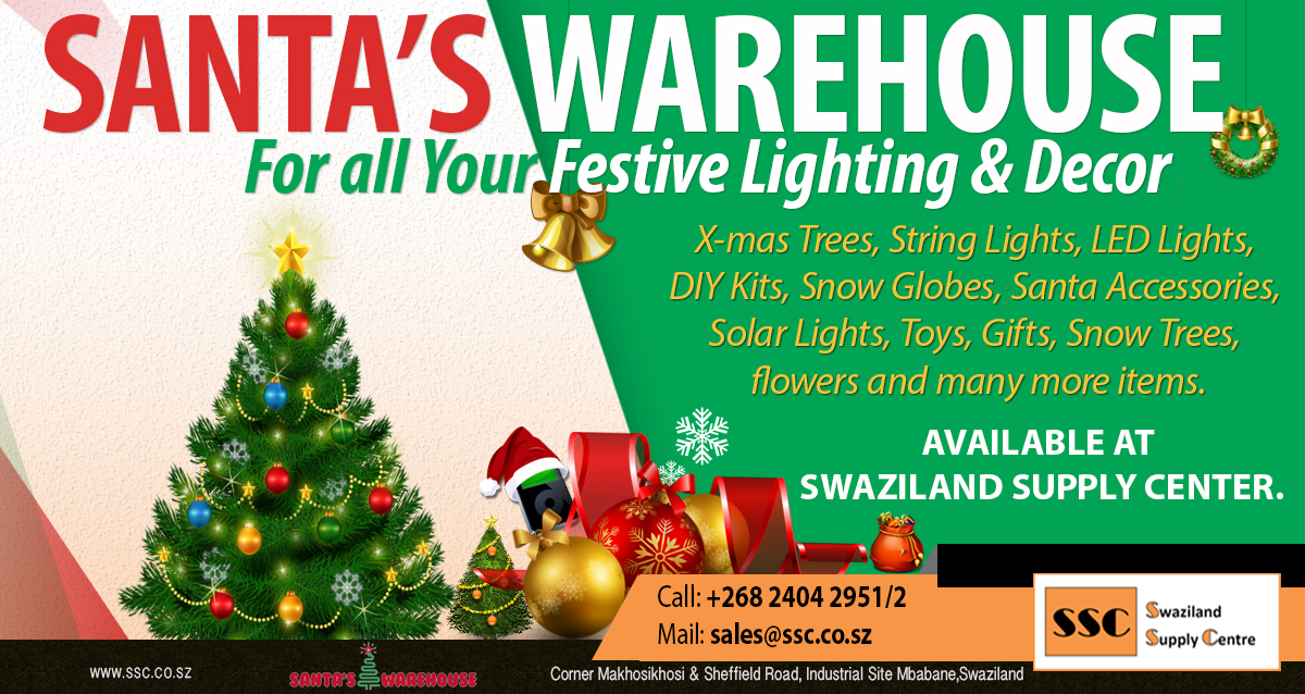 Get Your Festive Lighting And Decor #SantasWarehouse