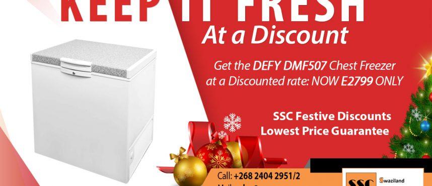 Defy Chest Freezer Discount