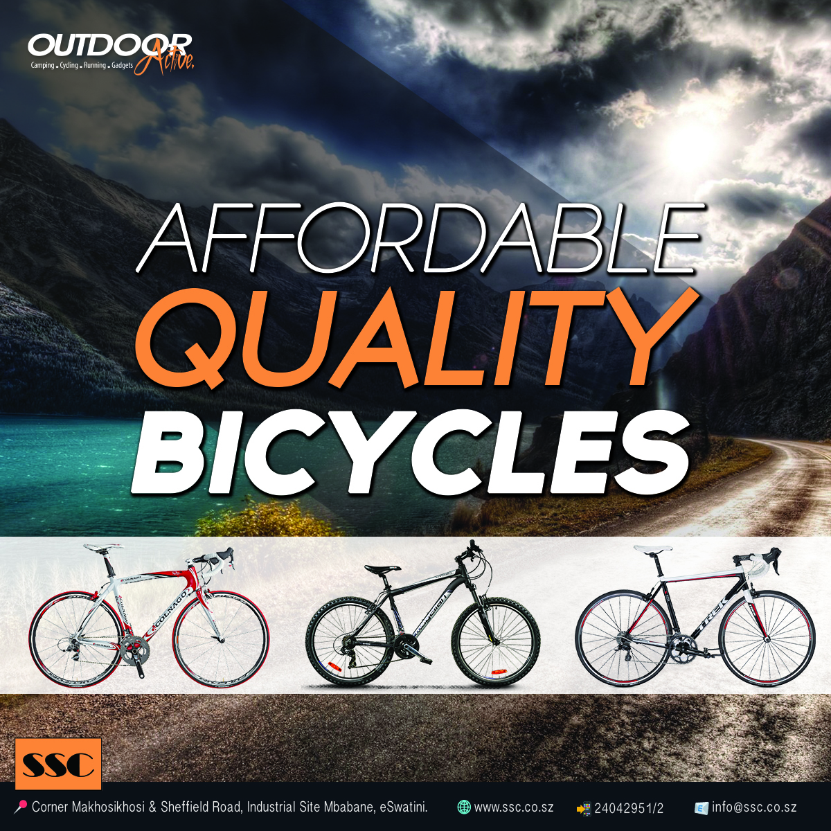 Affordable Quality Bicycles at SSC