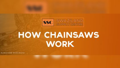 How Chainsaws work