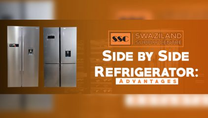 Side by Side Refrigerator : Advantages