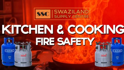 Kitchen and cooking fire safety