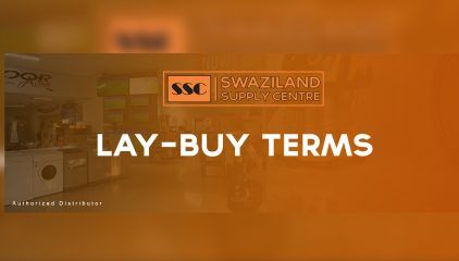 Lay-buy Terms and Agreement
