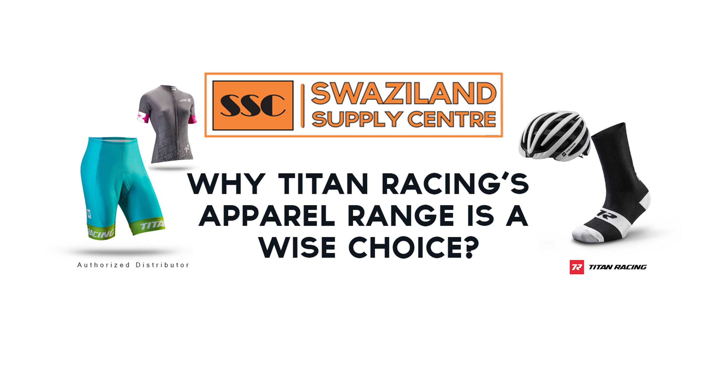 Why Titan Racing's apparel range is a wise choice?