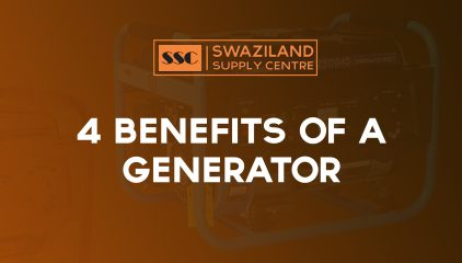 4 BENEFITS OF A GENERATOR