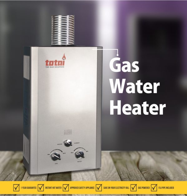 SSC TOTAI Gas Geyser (Water Heater)