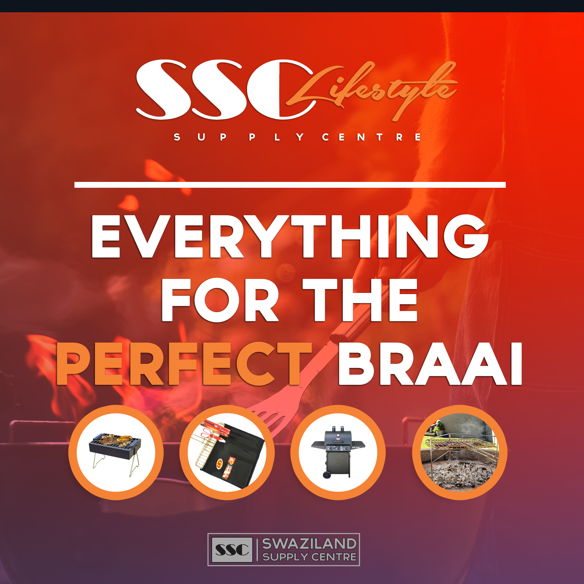 Everything for the perfect braai at ssc lifestyle